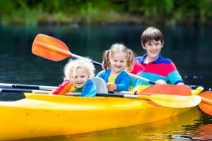 How To Kayak With A Toddler (GUIDE)