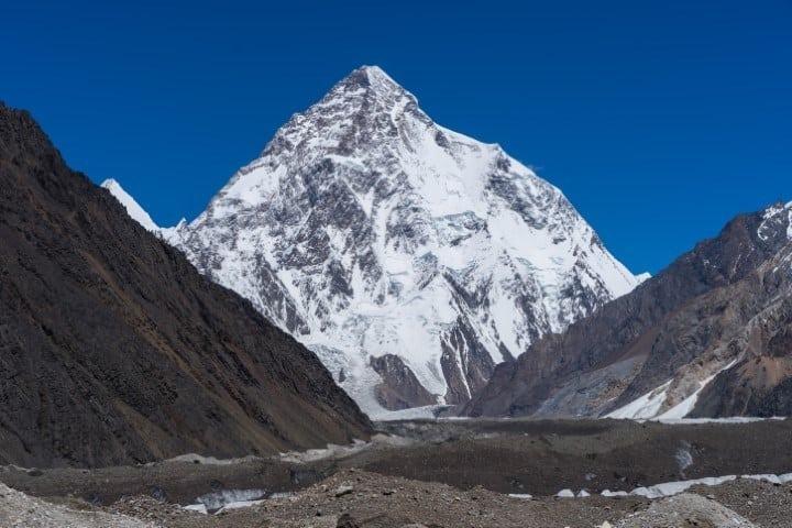 Climbing K2 Mountain