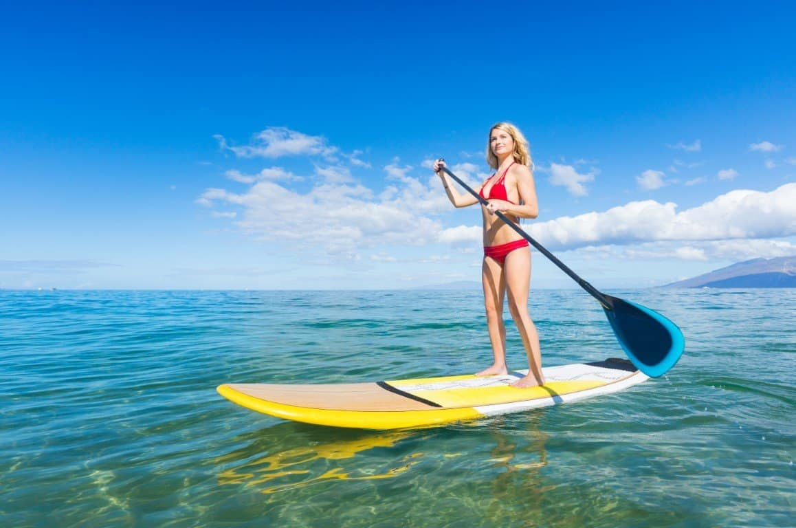 Beginner Stand Up Paddle Board